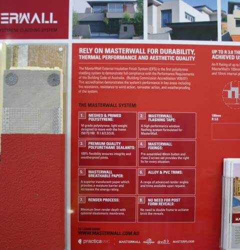Masterwall Cladding system